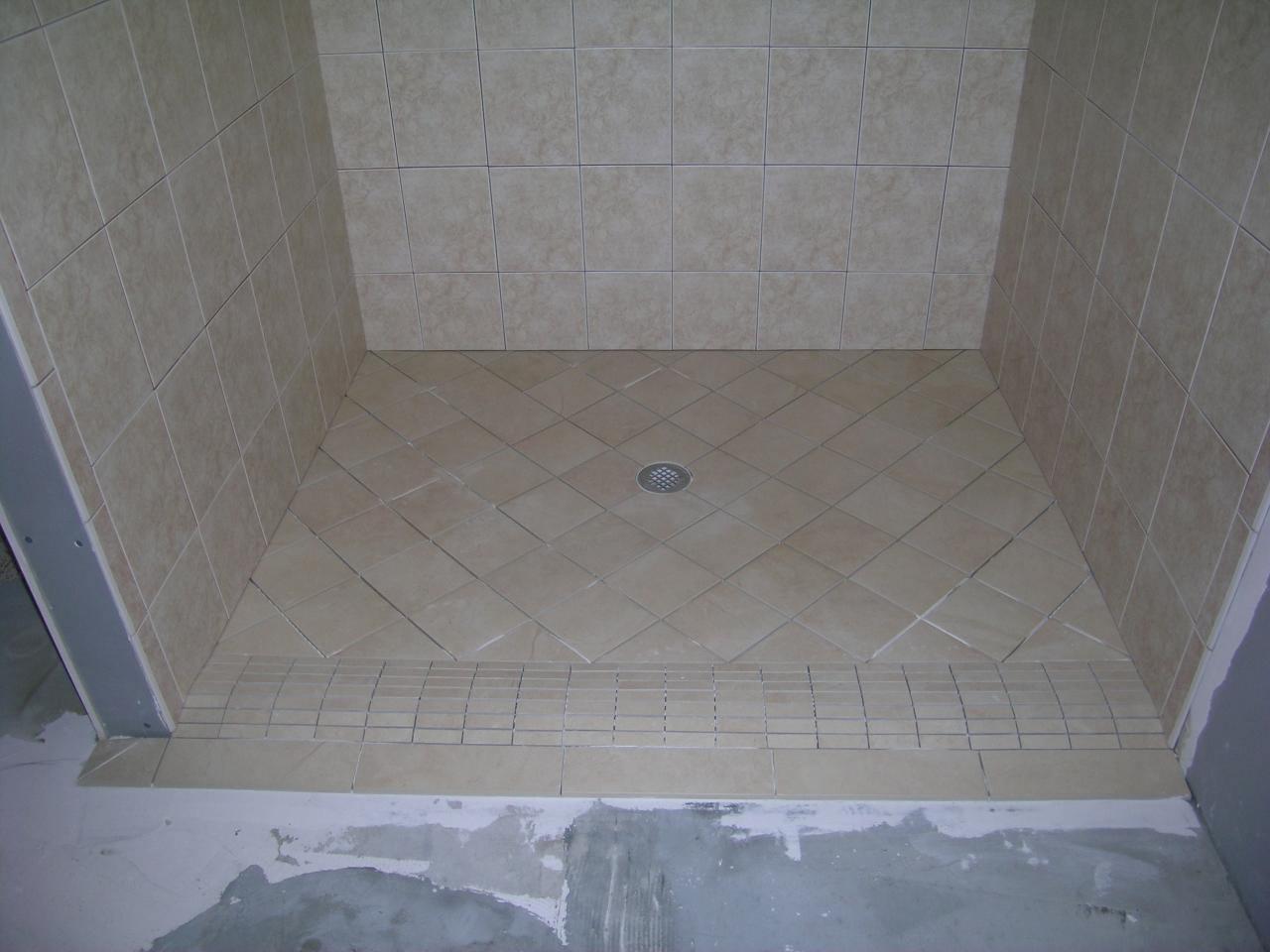 Stephenson Tile Co. - Naples Curbless Handicap Accessible Shower
